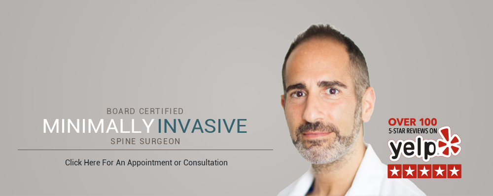 Board Certified Minimally Invasive Spine Surgeon